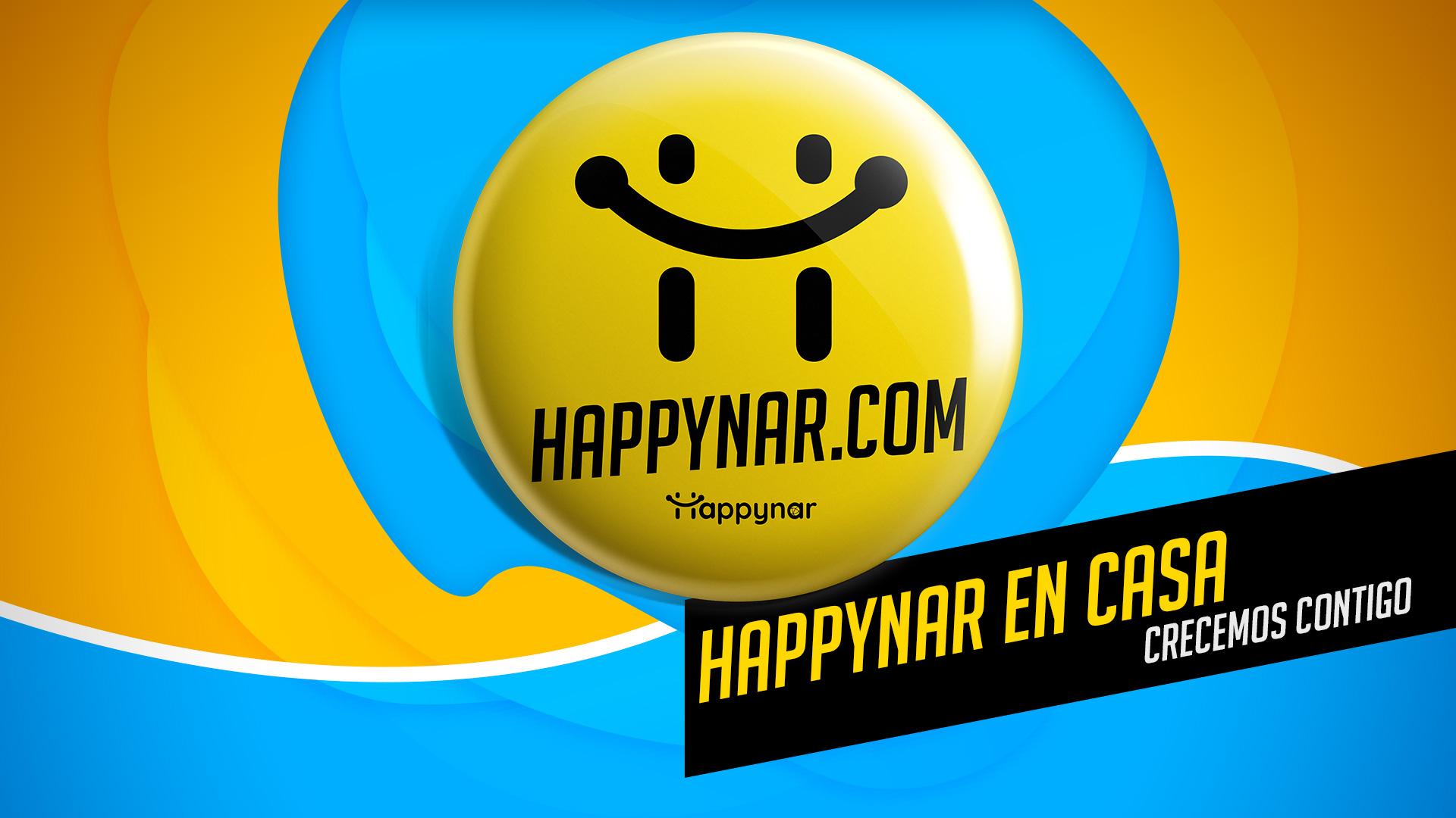 HAPPYNAR EN CASA